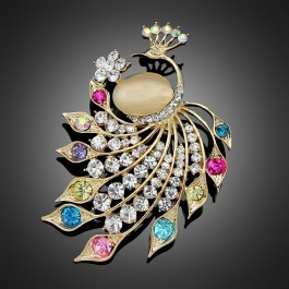 "Broche ""Olympe"" multicolore"